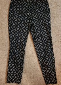 Amanda + Chelsea Patterned Business Pants